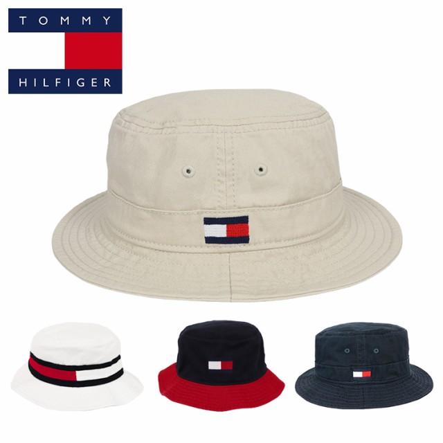 トミーヒルフィガー バケットハット メンズ レディース 帽子 ハット TOMMY HILFIGER HAT ブランド ロゴ 人気