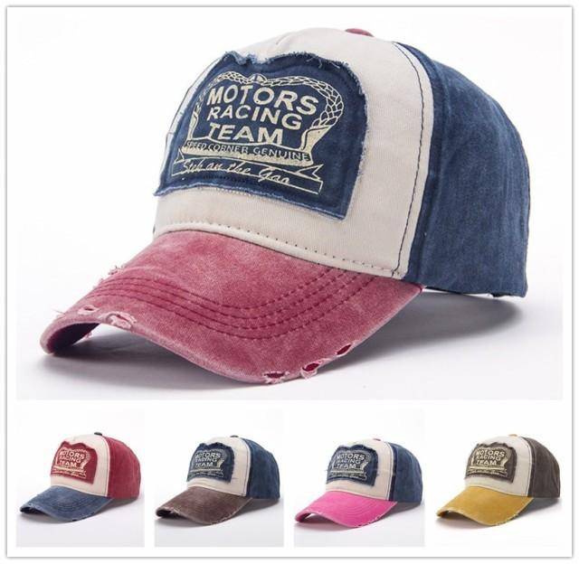海外人気ブランド商品 ベースボールキャップ 帽子 メンズ 男女兼用 野球帽 刺繍 ベースボールキャップ ダメージ加工 ワッペン スポーツ