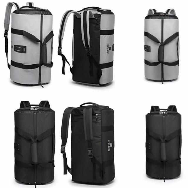 冬セール スポーツバッグ メンズ ダッフルバッグ ボストンバッグ ジムバック リュック型可能 3way 旅行バッグ シューズ収納 大容量 防水