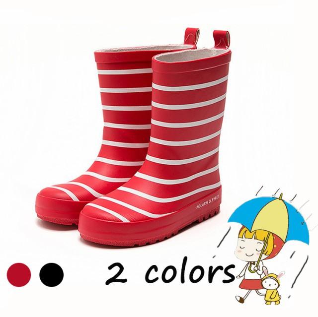 シンプル 【人気新作】子供 滑り止める レインブーツ 防水 通学 ショートレインブーツ 雨雪対策 可愛い オシャレ 雨靴 12742