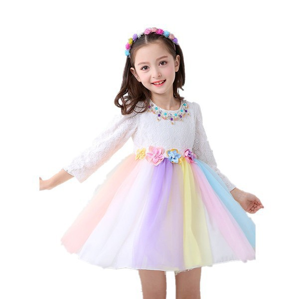 1b847fbd8f4de 韓國子供服子供ドレスプリンセスワンピース女の子ドレス入學式キッズ卒園式フォーマル