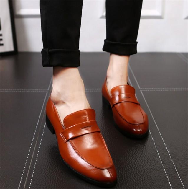 ローファー メンズ ビジネスシューズ革靴 ドライビングシューズカジュアルシューズ 通勤 通学紳士靴 防水 防滑 消臭