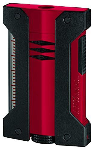 S.T.Dupont (エス・テー・デュポン) ライター 021402 デフィ エクストリーム(DEFI EXTREME) ターボライター レッド×ブラック 赤 黒 [
