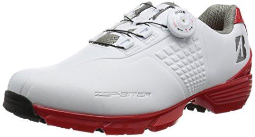 [ブリヂストン] ゴルフ ゴルフシューズ SHG650BK45 メンズ ホワイト/レッド 27?(27cm) 3E
