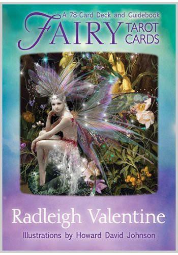 タロットカード Hay House 正規販売店 フェアリー タロット カード Fairy Tarot Cards Valentine Radleigh タロット 占い 英語のみ