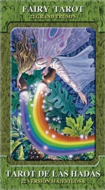タロットカード Lo Scarabeo 正規販売店 フェアリー タロット 大アルカナのみ 22枚 Fairy Tarot Gran Tramps