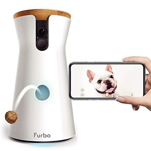 当日発送 Furbo ドッグカメラ [ファーボ] - AI搭載 wifi ペットカメラ 犬 留守番 飛び出すおやつ 見守り 双方向会話 スマホ iPhone And