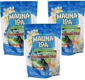 マウナロア マカデミアナッツ ミニアソートバッグ 98g 3袋セット MAUNALOA 3種アソート 塩 ガーリック ハニー おみやげ マカダミアナッ