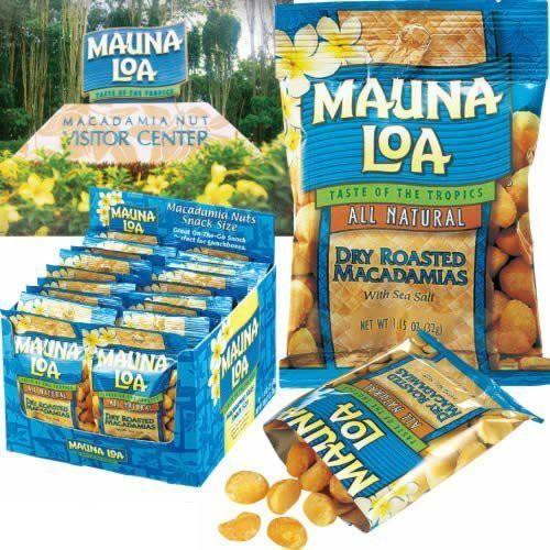 MAUNALOA(マウナロア) マカダミアナッツ塩味18袋セット (ハワイ おつまみ)