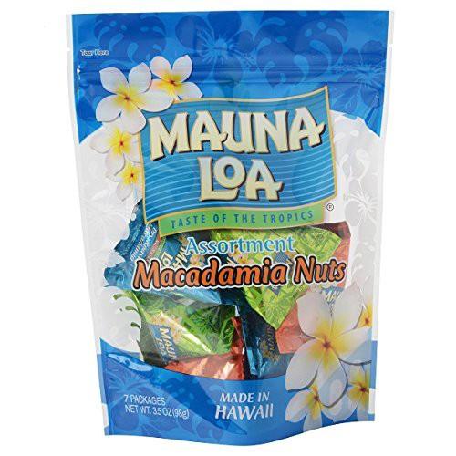 マウナロア マカデミアナッツ ミニアソートバッグ 98g MAUNALOA 3種アソート 塩 ガーリック ハニー ハワイ土産 お土産 おみやげ プレゼ