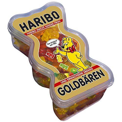 ハリボー ゴールドベア 型 ボックス BOX 450g ドイツのお菓子 輸入菓子 ドイツのグミ