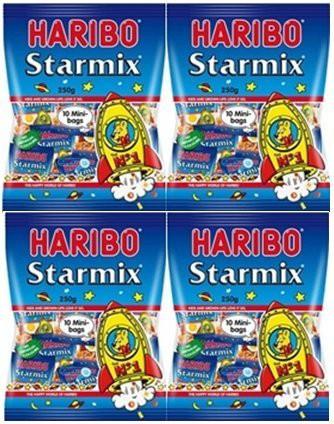 ハリボー グミ ミニ 個包装タイプ 250g 4個セット スターミックス 4袋