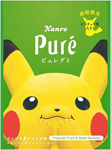 カンロ ピュレグミポケモンでんげきトロピカ味 56g ×6個