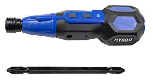 【即発送】エンプレイス 電動 ドライバー ボール ペン型 両頭ビット付き 充電式 電圧3.6V LEDライト機能 電動/手動 ドラ ネイビー NT-HB0
