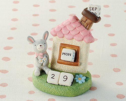 【即発送】便利な万年カレンダー定番ギフト 丸和貿易 ノーティーエブリデイカレンダー ウサギ 400671501