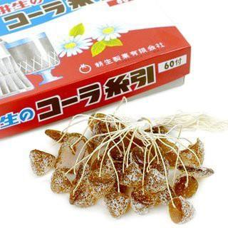 コーラあめ 糸引き飴 60入 キャンディー 懐かしの駄菓子