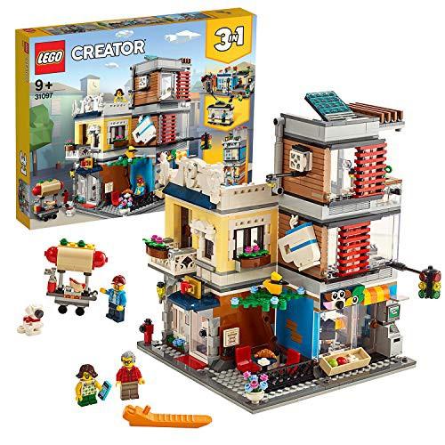 レゴ(LEGO) クリエイター タウンハウス ペットショップ カフェ 31097 ブロック おもちゃ 女の子 男の子