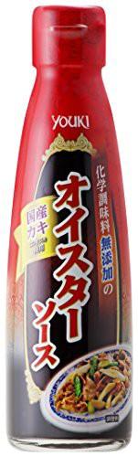 ユウキ食品 化学調味料無添加のオイスターソース 220g 国産カキエキス使用