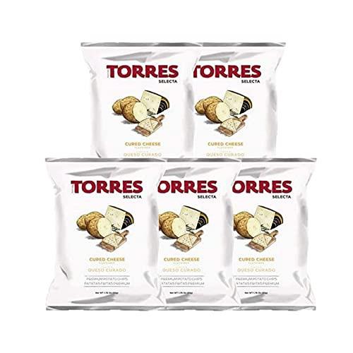 トーレス チーズ風味 ポテトチップス 40g×5袋セット ポテトチップ おつまみ おやつ 輸入菓子