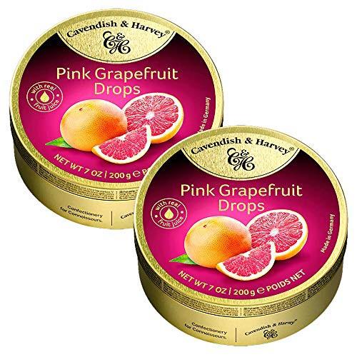 カベンディッシュ ハーベイ ピンクグレープフルーツ 200gx2缶セット 輸入菓子