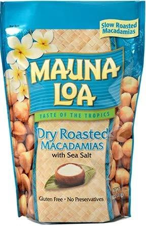 MAUNALOA マウナロア 塩味 マカデミアナッツ Lサイズ 283g