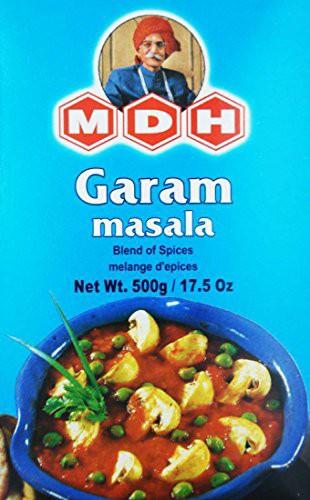 MDH ガラムマサラ 500g 業務用 スパイス ハーブ 香辛料 調味料 ミックススパイス
