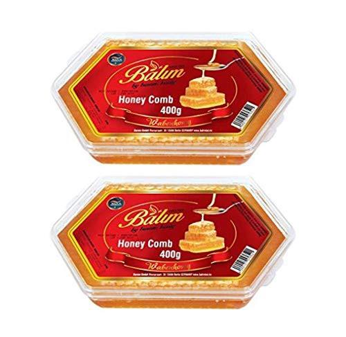 送料無料 Balim バリム コムハニー 400g×2個セット ドイツ産 巣蜜 はちみつ 蜂蜜