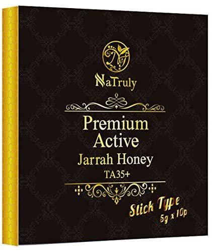 ナトゥリー プレミアムアクティブ ジャラハニー TA35+ スティックタイプ 5g×10本セット Natruly ハンズ 天然蜂蜜 はちみつ ハチミツ 送
