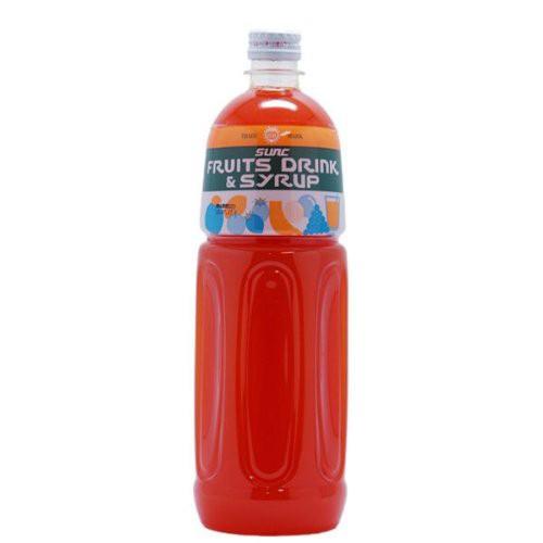 サンク 果汁 濃縮 オレンジジュース 希釈タイプ 1L(1000ml) 5倍希釈時果汁10% フルーツコンク 業務用ジュース サワーベース カクテルベ