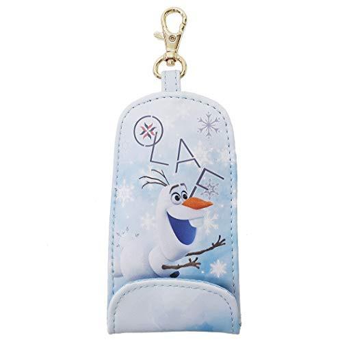 アナと雪の女王 リール式 キーケース 伸びる 鍵カバー オラフ ディズニー Disney