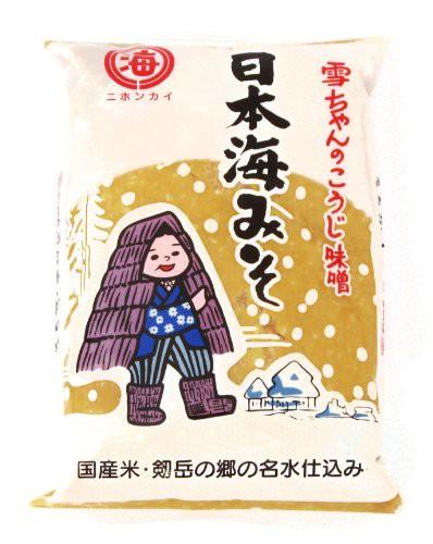 日本海みそ 雪ちゃんのこうじ味噌 1kg