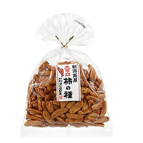 元祖柿の種 巾着 大辛口柿の種 140g