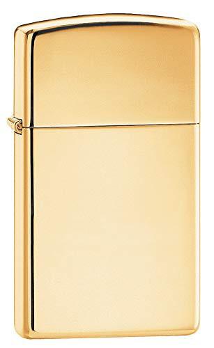 ZIPPO ジッポー 1654B High Polish Brass ハイポリッシュブラス 真鍮 ゴールド SLIM SIZE スリム ZIPPO LIGHTER ジッポライター [並行輸