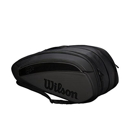 Wilson(ウイルソン) テニス バッグ バドミントン ラケットバッグ FEDERER DNA シリーズ バックパック(12本収納可能)