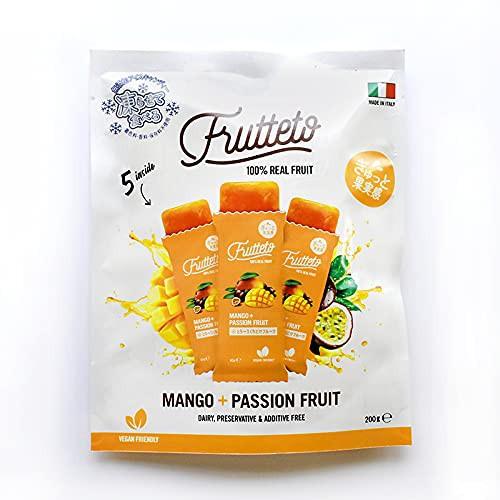 FRUTTETO フルッテート マンゴー&パッションフルーツ 1袋(40g×5)