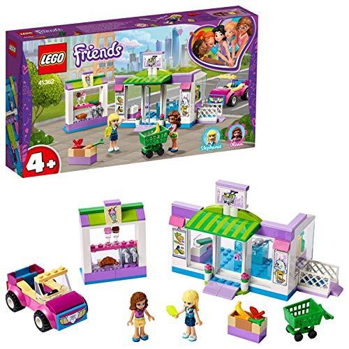 レゴ(LEGO) フレンズ ハートレイク・スーパーマーケット 41362 廃盤 おうち時間 人形 かわいい