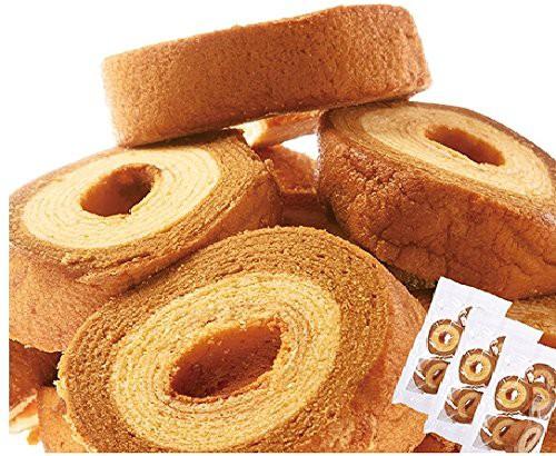 ※高級ホテル出身バウムクーヘン作りの名人パティシエが作る!ドイツ菓子の王様☆【訳あり】キャラメル&ミルクバームクーヘンどっさり9