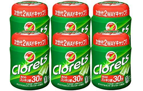 クロレッツ オリジナルミントボトル 140g ×6個