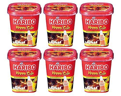 【6個セット】 ハリボー ハッピーコーラカップ 175g × 6個