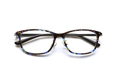 ピントグラス シニアグラス (老眼鏡1本で度数:+0.60D 〜 +2.50Dの累進設計) 定番のウェリトンタイプ (青鼈甲)