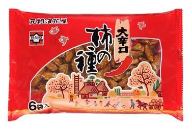 浪花屋製菓 大辛口 柿の種 6袋パック 138g 1ケース(12個入)