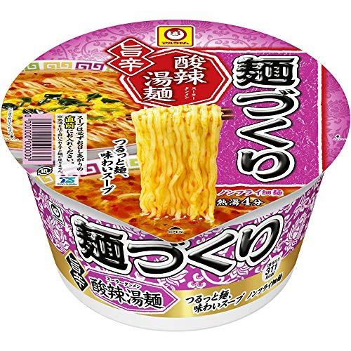 東洋水産 麺づくり 旨辛 酸辣湯麺 98g ×12個