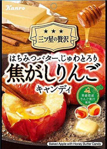 カンロ 焦がしりんごキャンディ 70g ×6個