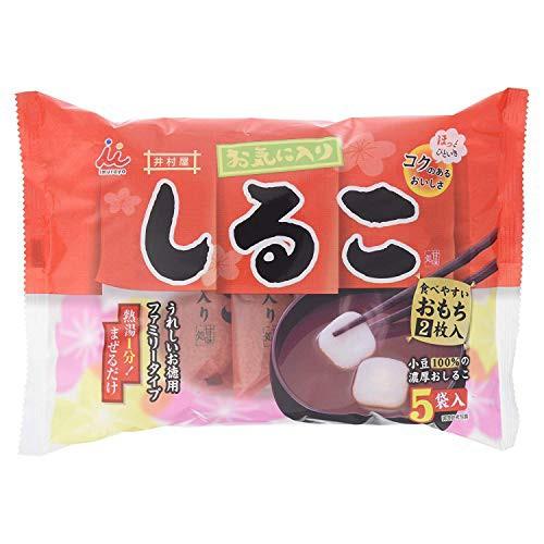 【3個セット】 井村屋 お気に入りしるこ (36g×5袋) × 3個