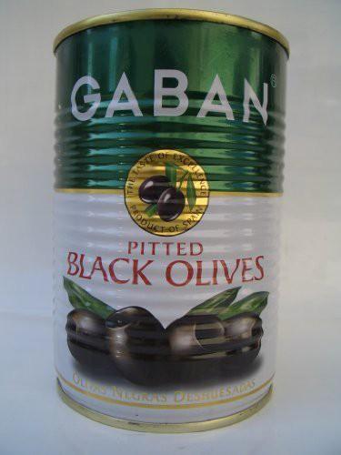 GABAN ブラックオリーブ(種抜) 170g×2本