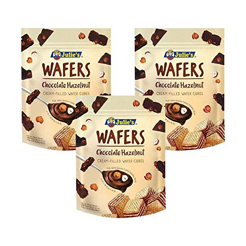 【3袋セット】 ジュリーズ キューブウエハースヘーゼルナッツチョコレート 150g ×3袋