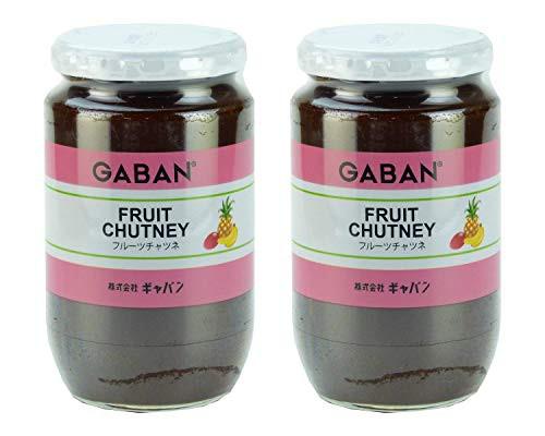 【2個セット】 ギャバン フルーツチャツネ 瓶 450g ×2個