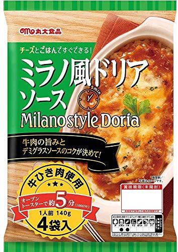 【3袋セット】 丸大食品 ミラノ風ドリアソース 4P 560g × 3袋