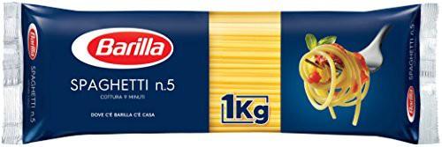 バリラ パスタ スパゲッティNo.5 (1.8mm) 1kg [正規輸入品]