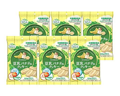 ブルボン 豆乳バナナのクッキー 133g ×6袋